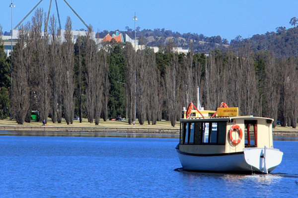 Burley Griffin lake