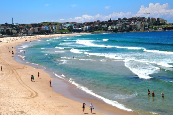 bondi beach summer