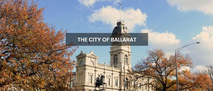 The city of Ballarat: