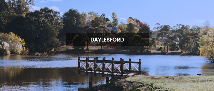 how to get to daylesford from melbourne by car